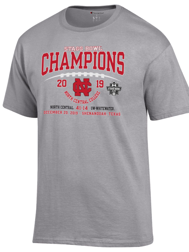 Alternative Image for the North Central College Official Stagg Bowl Championship Tee - Short Sleeve product