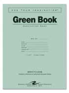 Image for the Roaring Springs Green Examination Book 8.5x11in 8sht product