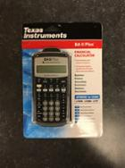 Image for the Texas Instruments BA II Financial Calculator product