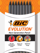 Image for the BIC Evolution Woodcase Pencil Gray #2 8 Pk product