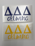 Image for the Delta Delta Delta Alumna Decal product