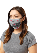 Image for the North Central College Three Layer Mask / Face Covering by League product