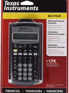 Image for the TI BA II Plus Financial Calculator product