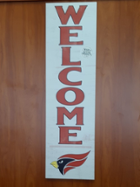 Image for the North Central College Welcome Outdoor Sign made by Kindred Hearts product