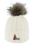 Image for the 'Alps' -- Knit Cuff Hat With Faux Fur Pom product