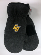 "Image for the Logofit 3M Thinsulate Chalet Charcoal Mittens with ""CU"" product"