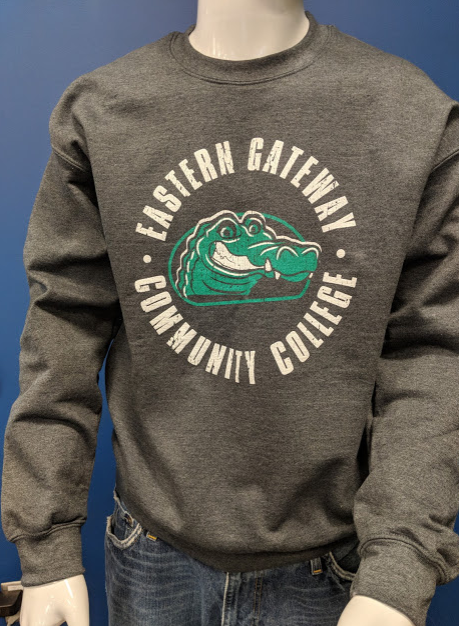 Alternative Image for the Crew Sweatshirt Comfort Fleece Circle Design with Gator product