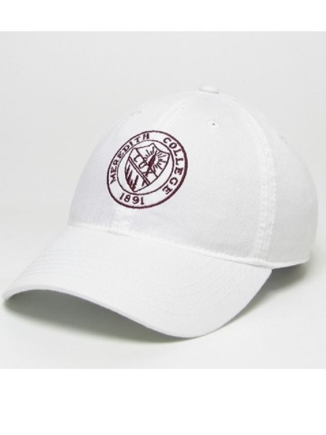 Alternative Image for the Relaxed Twill Hat, Embroidered Seal Design product