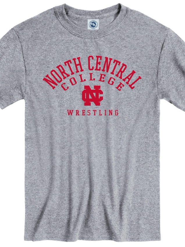 Image for the North Central College Wrestling Tee by New Agenda product