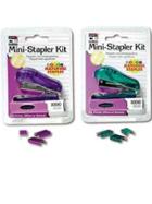 Image for the Mini Stapler kit (Assorted colors)- Charles Leonard product