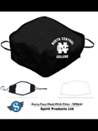 Image for the North Central College Adjustable Face Mask with washable Filter product