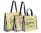 Image for the Good Vibes Reusable Spring Shopping Bag product