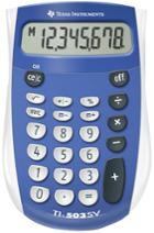Image for the TI 503 SuperView Calculator Blue product