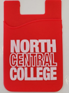 Image for the North Central College Cellphone card Holder by Neil Enterprises product