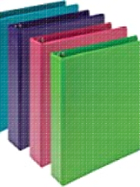 """Image for the Samsill BioBased Durable Fashion Binder ASST Colors 1.5"""" (Sold Separately) product"""