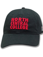 Image for the North Central College Enzyme Wash Black Hat by The Game product