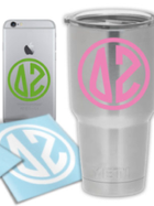 Image for the Delta Zeta Small Circle Decal product