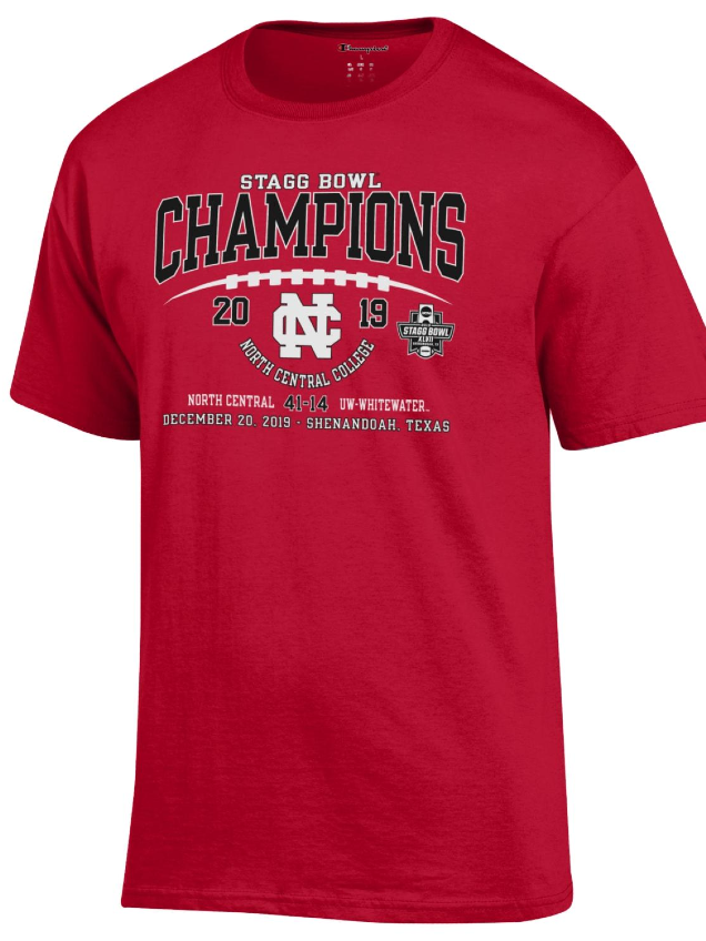 Image for the North Central College Official Stagg Bowl Championship Tee - Short Sleeve product