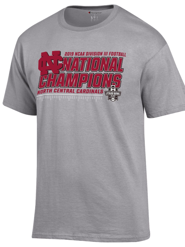 Image for the North Central College Official Locker Room Tee Shirt from the Stagg Bowl product