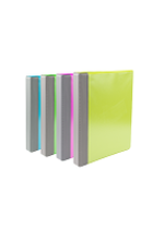 "Image for the 1"" Heavy Duty Clear View Binder with Reinforced Spine product"
