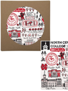 Image for the North Central College Trivet by Julia Gash product