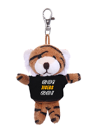 Image for the Tiger Plush Keychain, Tee, Jardine Associates product