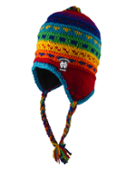 Image for the North Central College 'Yak' Junior Rainbow Hat product