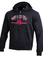 Image for the North Central College Big Cotton - Full zip hoodie by Gear For Sports product