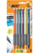 Image for the Bic Mechanical Pencil Soft Grip 6pk 0.7mm product