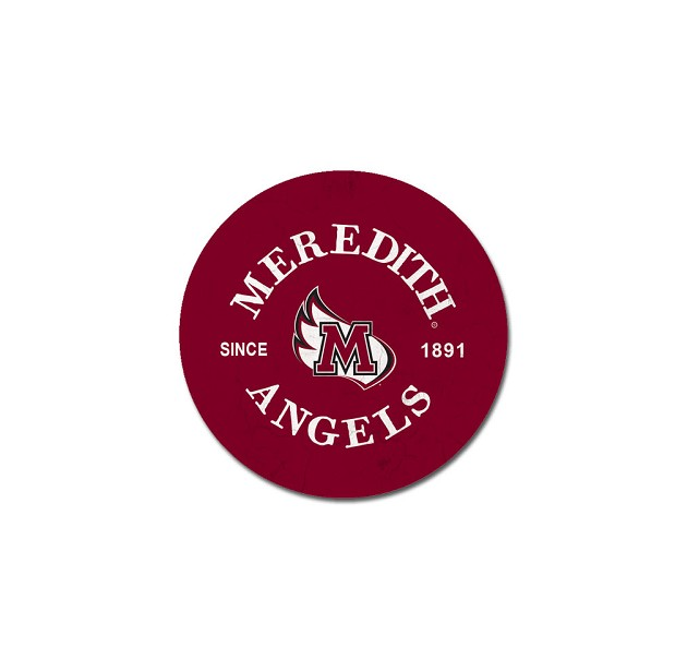 Image for the Car Coaster, 2 Pack, Maroon Meredith Angels product