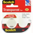 "Image for the Scotch Transparent Tape, 3/4"" x 300"" product"