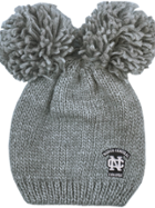 Image for the North Central College Leia Hat with Double Pom product