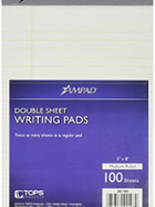 Image for the Ampad Double Sheet Writing Pad 100 sheets product
