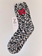 Image for the North Central College Black Marled Socks by Zoozatz product
