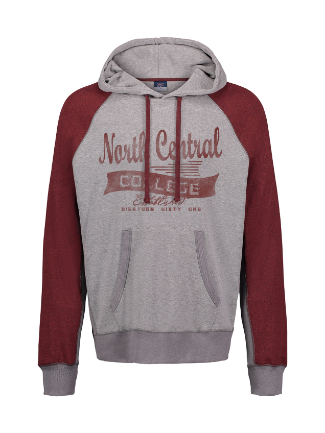 Image for the North Central College Pepper Fleece Hood MV Sport product