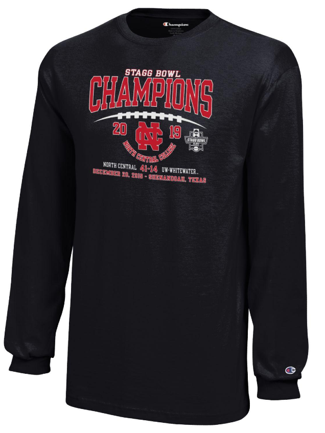Image for the North Central College Youth - Championship Apparel in Black product