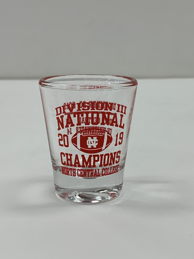 Image for the North Central College Championship 1oz Shot glass product