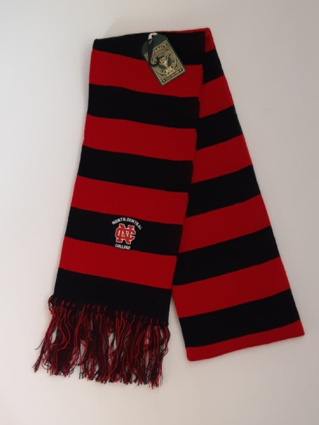 Image for the North Central College Rugby Stripe Scarf by Legacy product
