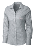 Image for the Women's Cutter & Buck Tattersall Dress Shirt product