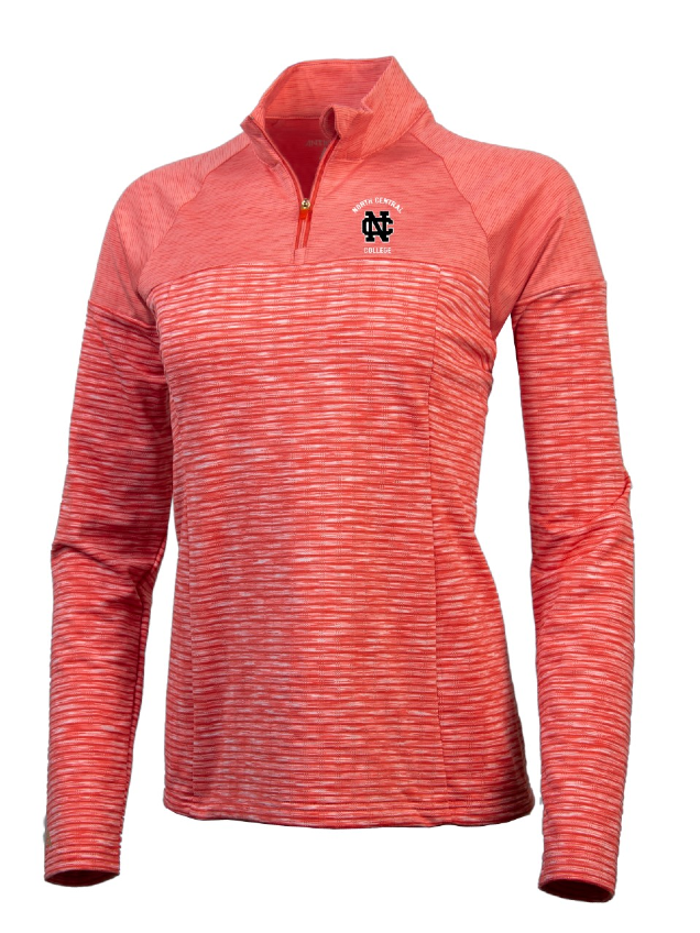 Image for the North Central College Women's Luna 1/4 Zip by Antigua product