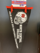 Image for the North Central College Championship 12x30 NCAA Flock plus Pennant product
