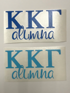 Image for the Kappa Kappa Gamma Alumna Decal product