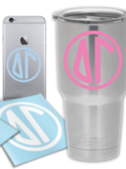 Image for the Delta Gamma Small Circle Decal product