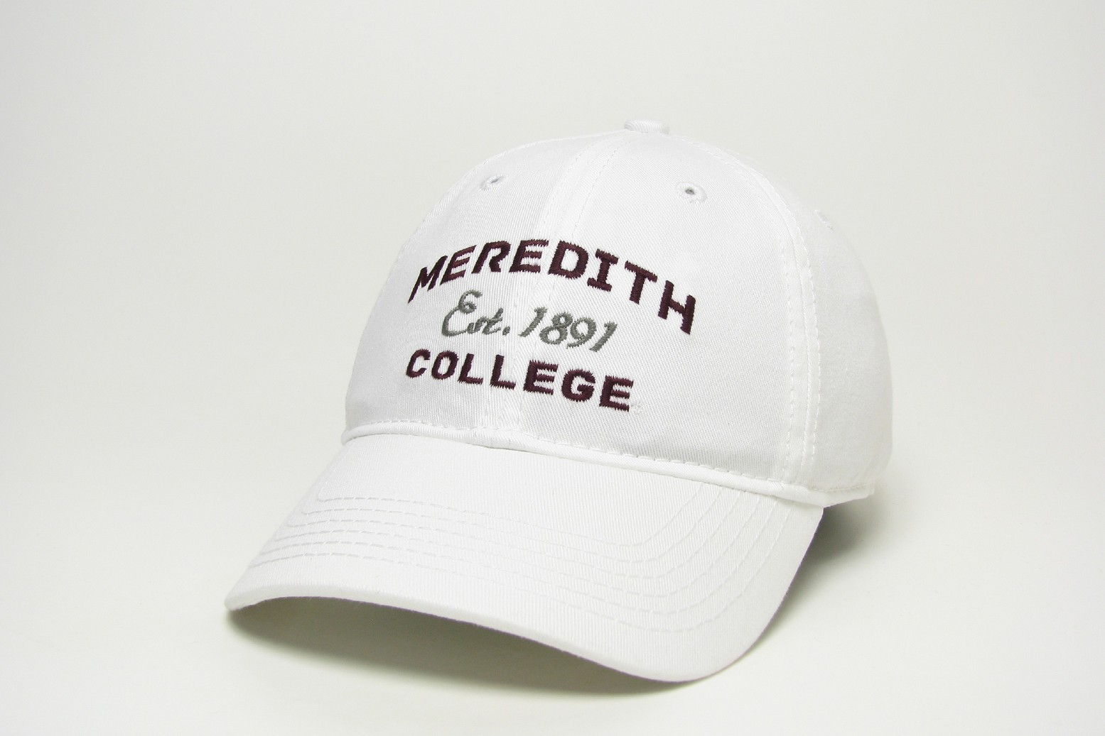 Alternative Image for the Relaxed Twill Hat Legacy Meredith Est. Date College product