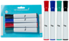 Image for the 4-Pack Dry Erase Markers, Broad product