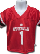 Image for the North Central College Dazzle/ Mesh Football Jersey for kids product