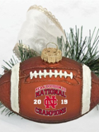 Image for the Stagg Bowl Football Ornament product