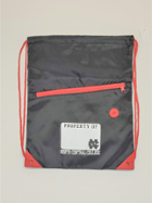Image for the North Central College Drawstring Bag Red / Black w pocket product
