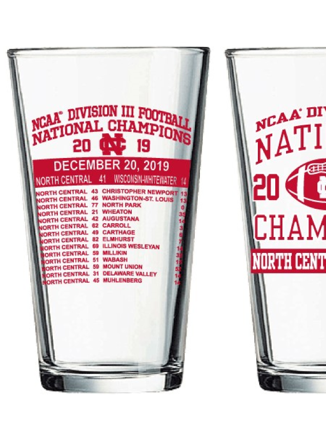 Image for the North Central College Championship Stagg Bowl Pint Glass product