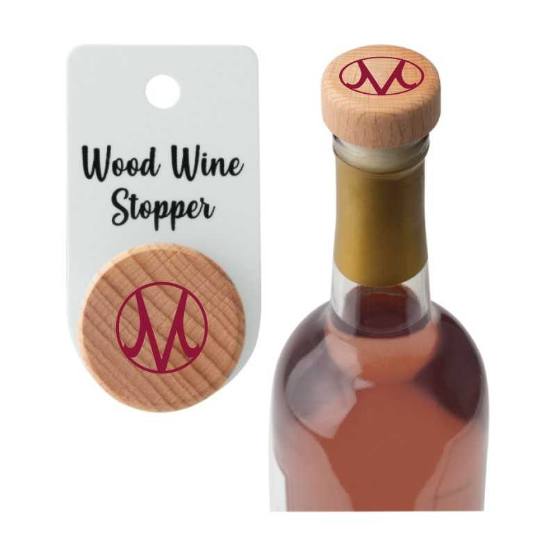 Image for the Wood Wine Stopper product